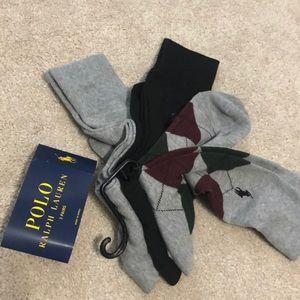 Polo ralph lauren dress socks pck 3
